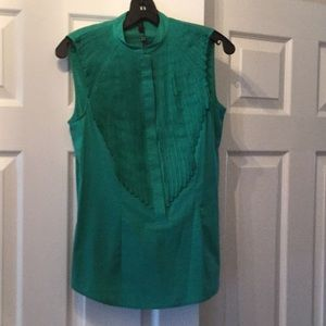 BCBG MAXAZRIA Sleeveless Buttondown size small